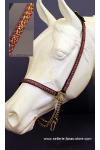 arabian horse showhalter brandy