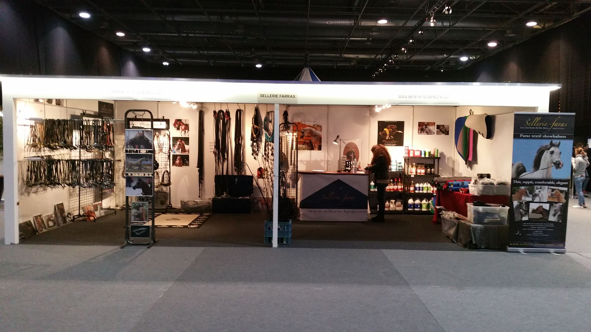 stand at the arabian world championship Paris 2018
